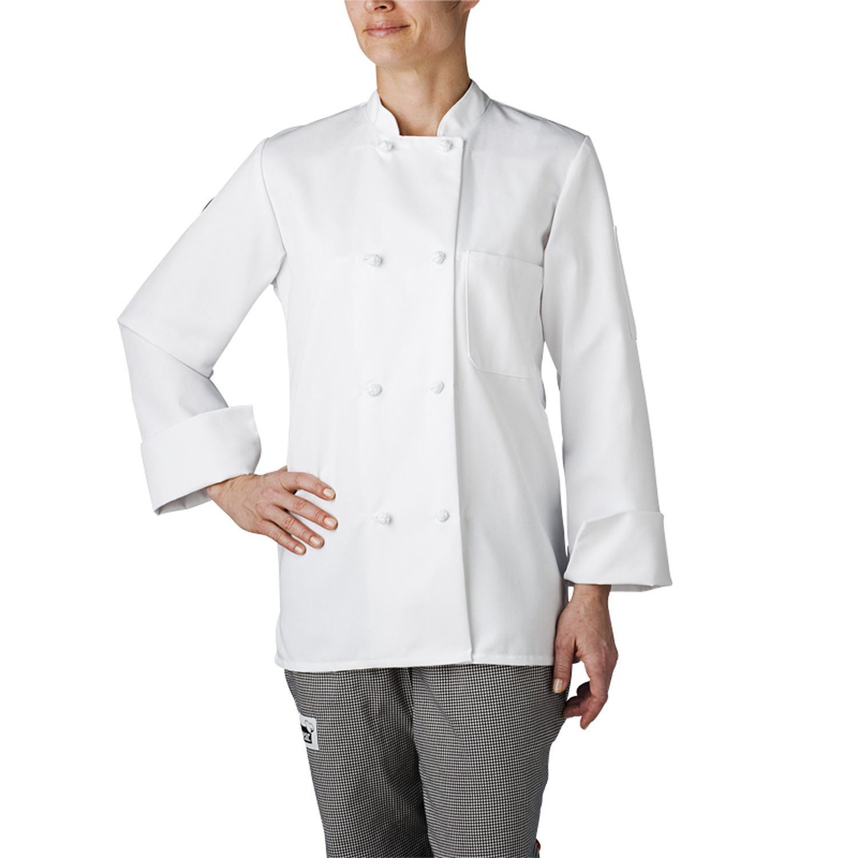 TOPTIE Manteau de chef /à manches courtes pour femme