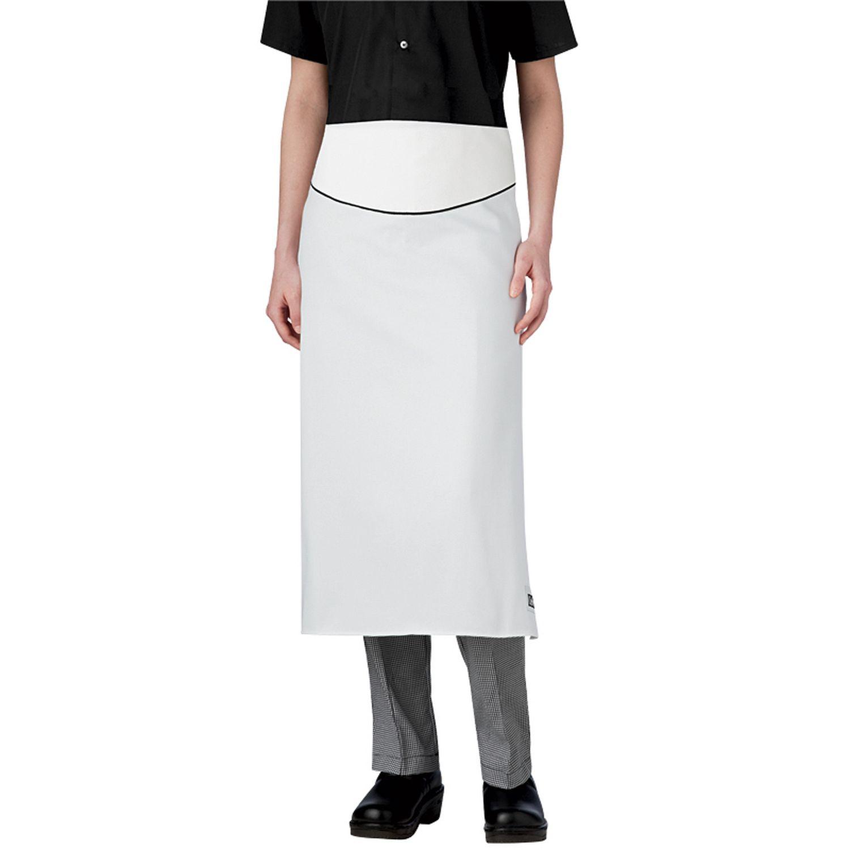White apron mockup - Royalty Chef Apron 1630