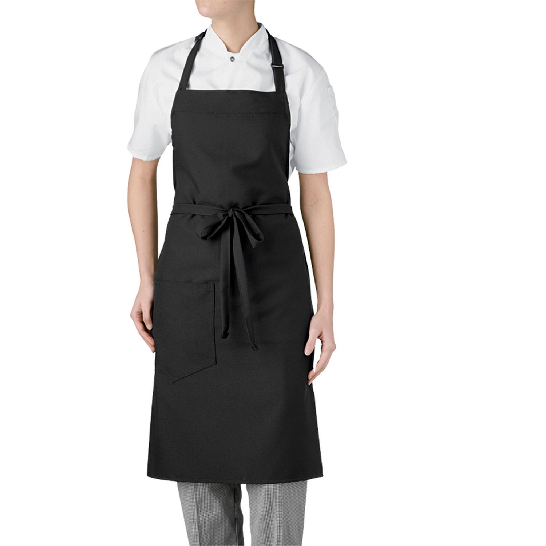 White bib apron - 1690 30
