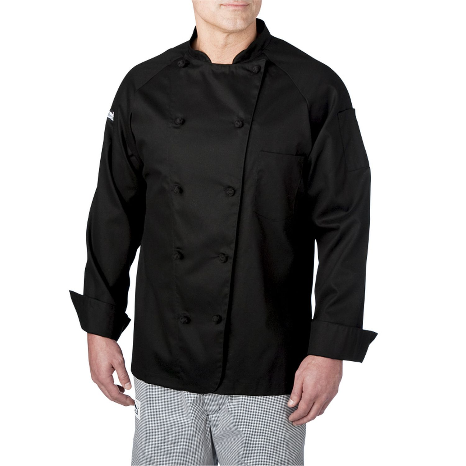 Lightweight Cotton Long Sleeve Chef Coat (4020)  36449e9ee
