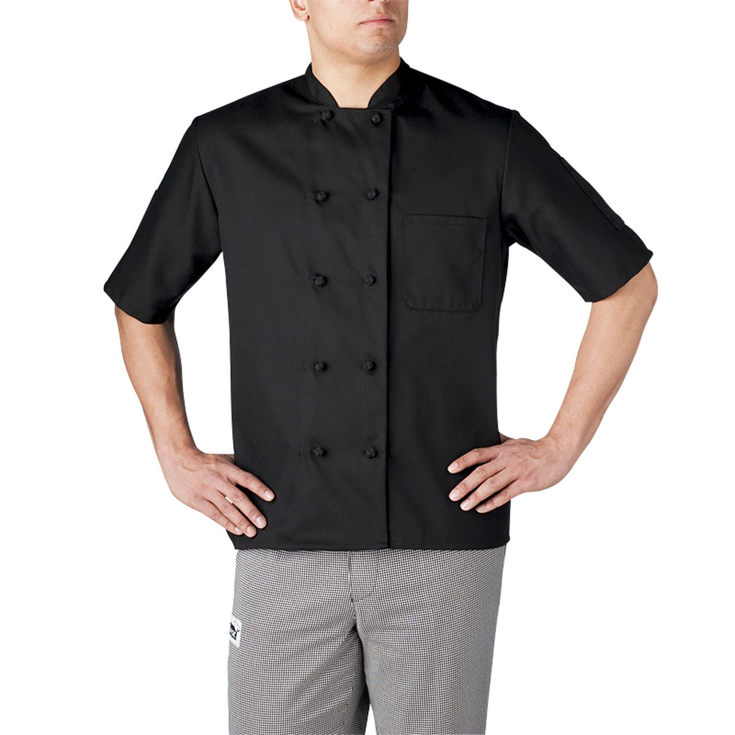 Best Seller - Chefwear (Chef Wear) Short Sleeve Primary Cloth Knot Button Jacket (4450)