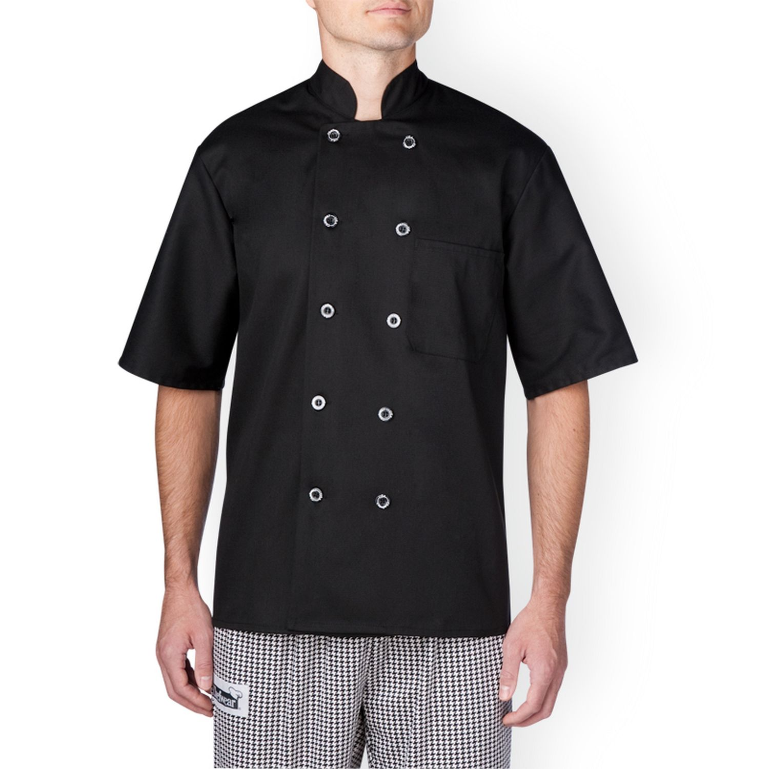 Best Seller - Chefwear (Chef Wear) Short Sleeve Primary Lightweight Chef Jacket (4456)