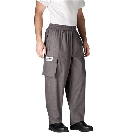 Chefwear Mens Unisex Cargo Cotton Chef Pant