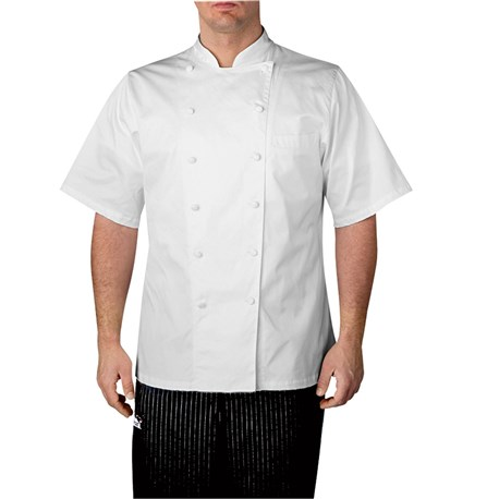 Short Sleeve Executive Royal Cotton Chef Coat (4050) | Chefwear