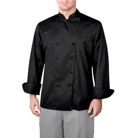 Unisex Slim Long Sleeve Executive Royal Cotton Chef Coat (CW4100)