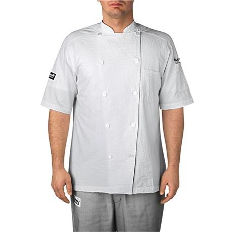 Cotton Seersucker Chef Jacket (5030)
