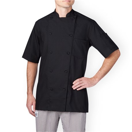Chefwear (Chef Wear) Vented Lightweight Short Sleeve Chef Coat (5612)