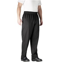 Best Seller - Chefwear (Chef Wear) Ultimate Cotton Chef Pants (3500) CW3500 - Black
