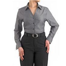 -Women's Premier Oxford Server Shirt (1346)