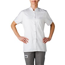 -Women's Mandarin Chef Shirt (1372)