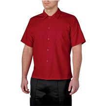 Short Sleeve Snap Chef Shirt (1390)