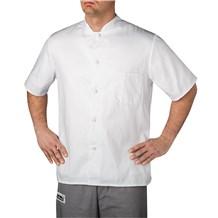 -Mandarin Collar Chef Shirt (1392)