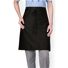 -Three Star Mid Length Plain Front Chef Apron (1611)