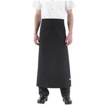 -Wide-Tie Waist Chef Apron w/o Pocket (1615)