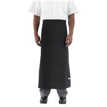 -Wide-Tie Bistro Server Apron w/o Pocket (1915)