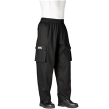 Cargo Cotton Chef Pants (3200) Long, Unhemmed