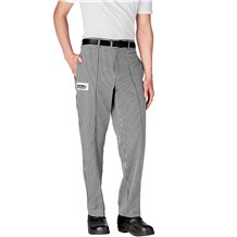 -Tailored Cotton Chef Pants (3640)