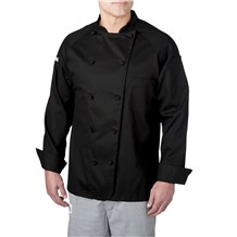 Lightweight Cotton Long Sleeve Chef Coat (4020)