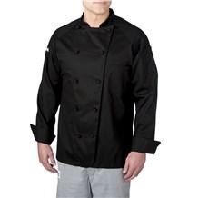 Lightweight Cotton Long Sleeve Chef Coat (4020)