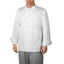 Unisex Classic Long Sleeve Premier VIP Royal Cotton Chef Coat (CW4110)