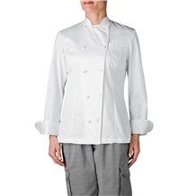 Women's Tall Executive Royal Cotton Chef Coat (412T)