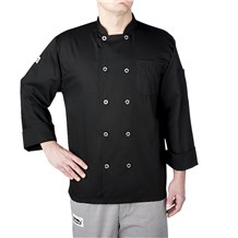 Long Sleeve Primary Plastic Button Jacket (4410)