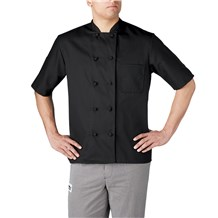 Short Sleeve Primary Cloth Knot Button Jacket (4450)