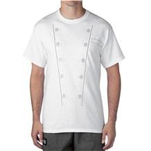 -Chef Jacket T-Shirt (4654)