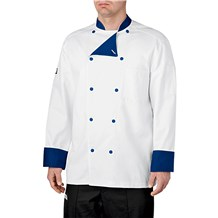 -Lined Cotton Traditional Chef Coat (5000)
