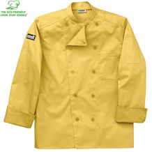 -Organic Cotton Traditional Chef Coat (5005)