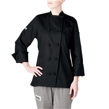 Women's Long Sleeve Lightweight Cotton Chef Jacket (5020)