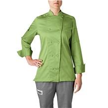 Women's Organic Cotton Traditional Chef Coat (5021)