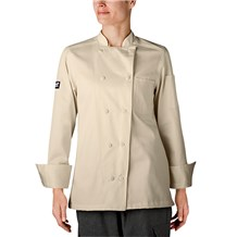 -Women's Organic Cotton Traditional Chef Coat (5021)