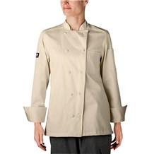 -Women's Organic Cotton Traditional Chef Coat (5021)