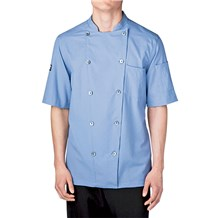 -Cotton Seersucker Chef Jacket (5030)