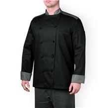 -Five Star Color Block Chef Jacket (5130)