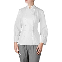 -Women's Nouveaux Royal Cotton Chef Coat (5210)