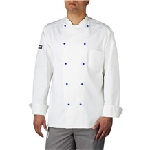 Cotton Stud Button Chef Coat (5400)