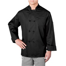Long Sleeve Cloth Knot Button Chef Jacket (5650)