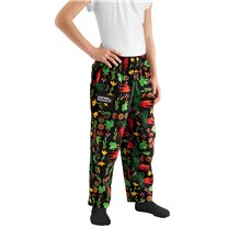Pint Size Cotton Chef Pants (8200)