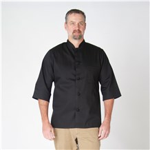 Mandarin Collar 3/4 Sleeve Chef Shirt (CW1394)