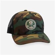 Time & Smoke Camo Trucker Cap (CW1496) - Camouflage