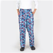 Ultimate Cotton Chef Pants (CW3500H) [Star Spangled]
