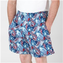 Ultimate Cotton Chef Shorts (CW3805H) [Star Spangled]