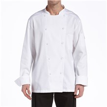 Long Sleeve Vented Light Weight Chef Coat (CW5662)