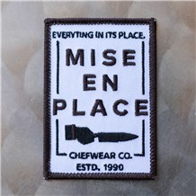Mise Iron-On Chef Patch (MISEN)