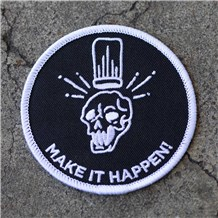 Make It Happen Iron-On Chef Patch (MKHAP)