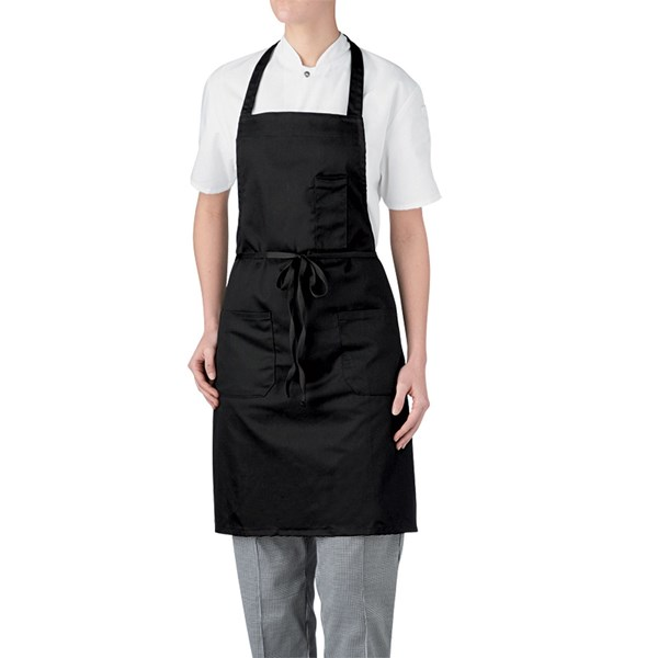 3-Pocket Bib Apron (CW1665)