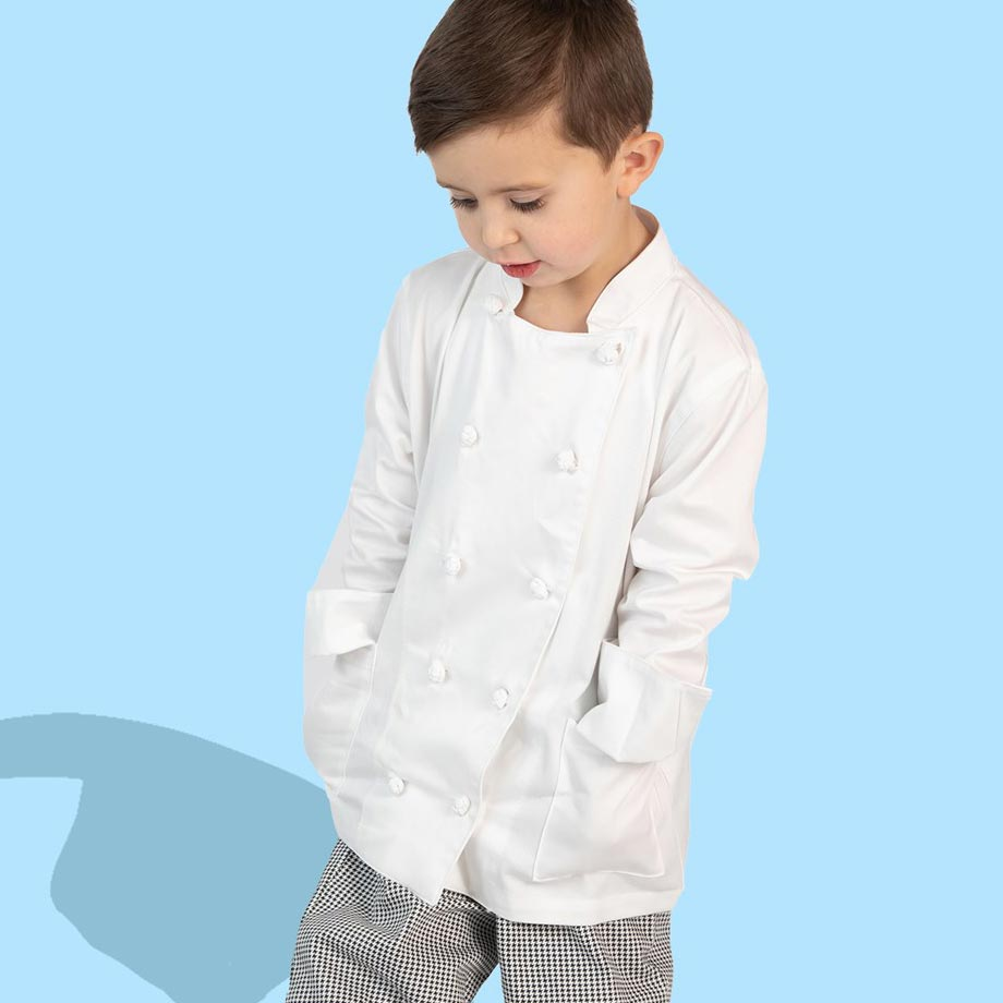Chef Coats, Pants and Aprons for Kids.