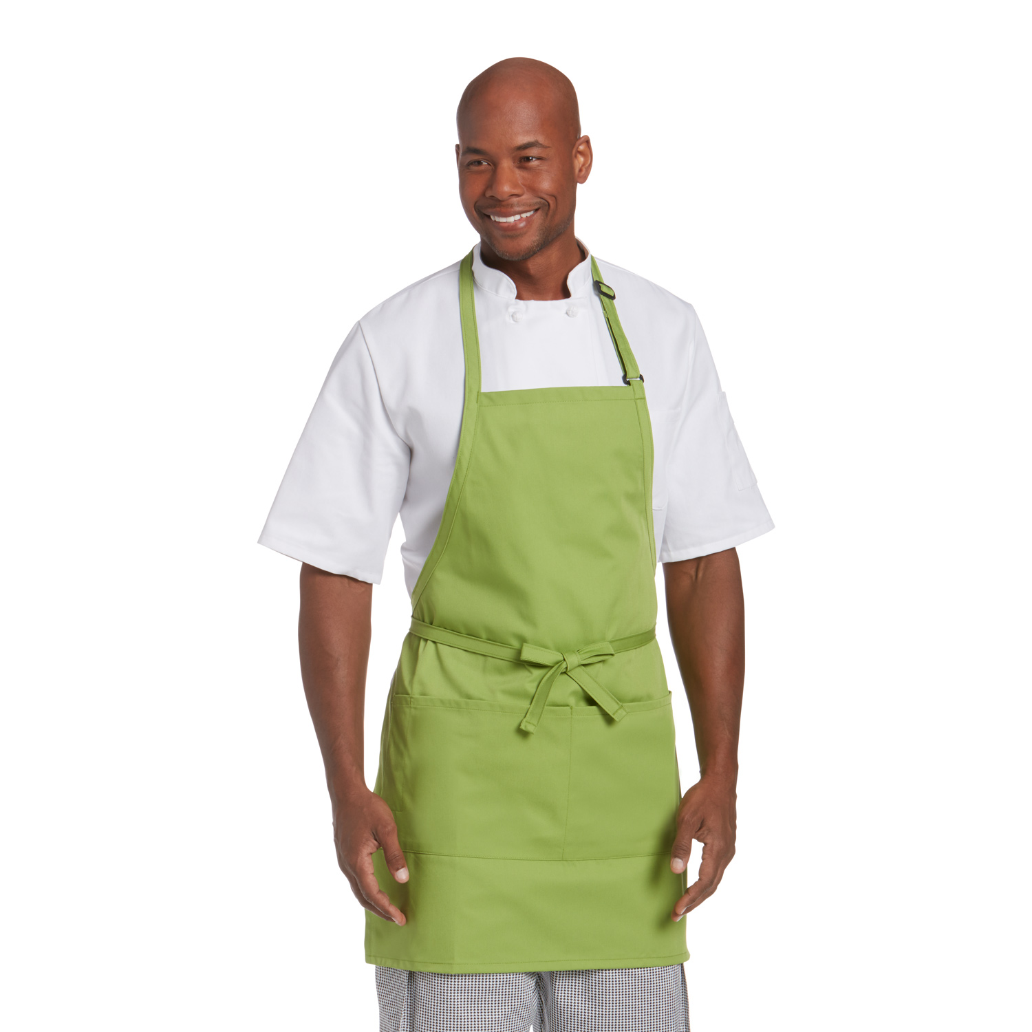 Best Seller - Chefwear (Chef Wear) 2-Pocket Bib Apron (CW1648)